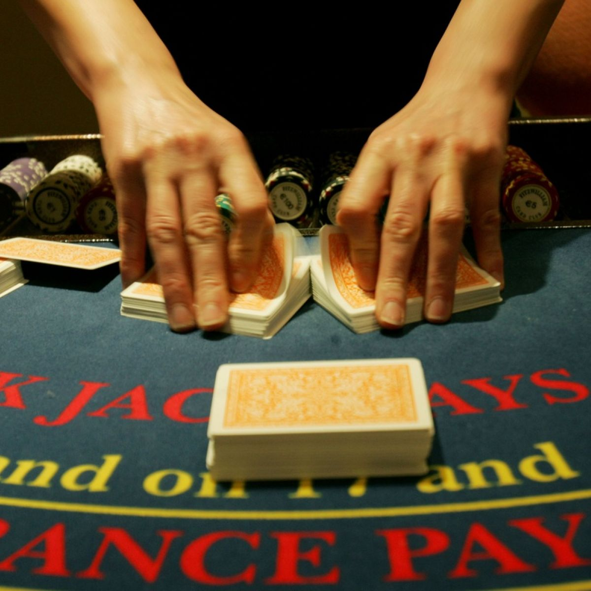 Never bust blackjack strategy