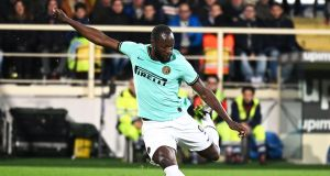 Romelu Lukaku and Brescia forward Mario Balotelli are among those to make allegations of being racially abused by supporters during games this season. Photograph: PA
