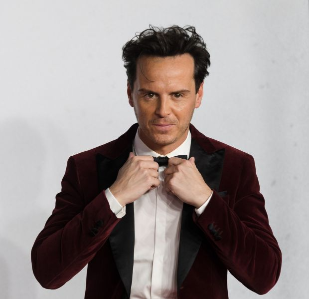 Irish actor and cast member Andrew Scott at the 1917 world premiere in earlier this month. Photograph: Vickie Flores/EPA