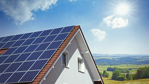 The Green Home Improvement Loan is designed to fund energy-efficient upgrades such as the installation of solar panels or insulation. Photograph: iStock