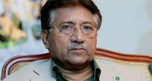 A Pakistani court sentenced on Tuesday former military ruler Pervez Musharraf to death on charges of high treason and subverting the constitution, government officials said. File Photograph: Ali Hader/EPA