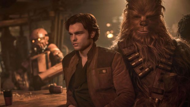 Solo: A Star Wars Story – the closest thing to a box-office flop on this list