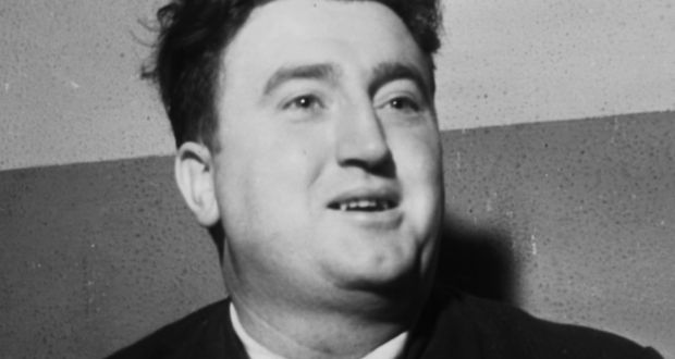 Brendan Behan. Behan's infamy, the cult of personality which makes it almost impossible to look at his work without seeing him. Photograph: Eddie Kelly