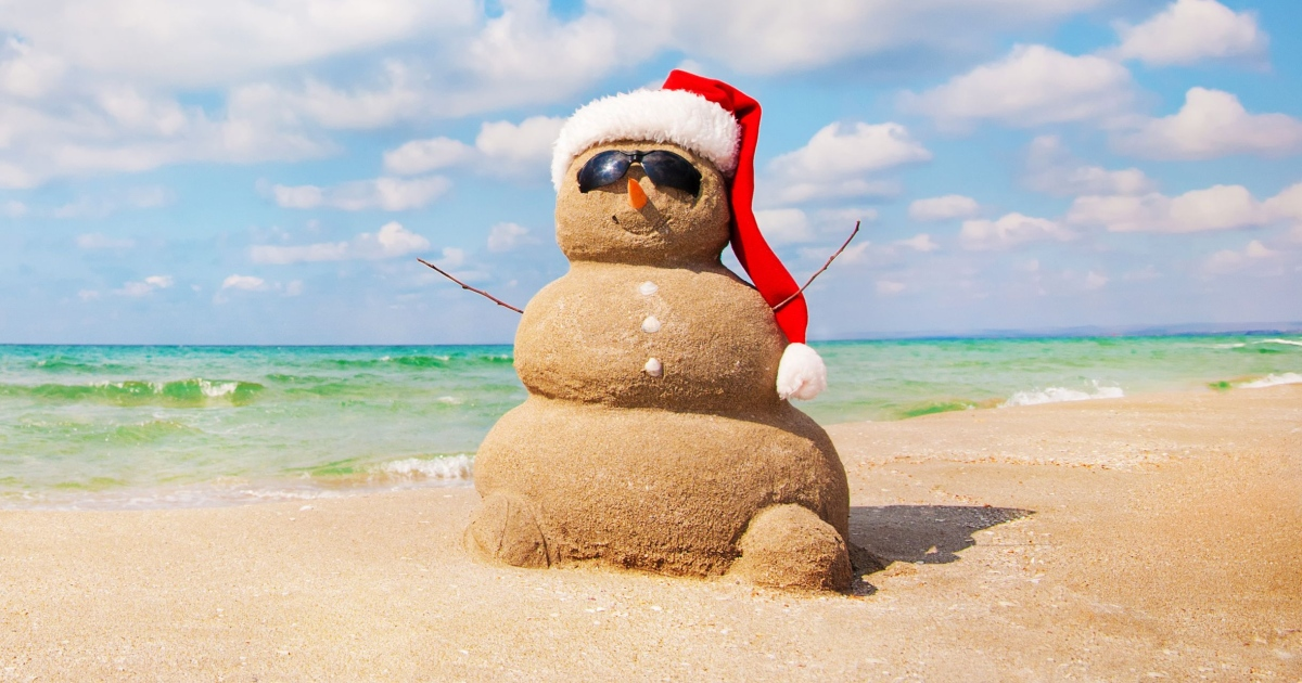 The first Christmas I spent away from home was in Sydney. It was 28 degrees and sunny. Photograph: iStock/Getty