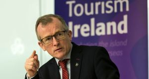 "Niall Gibbons, CEO of Tourism Ireland: ""We have a reputation as a clean, green island. We want to make sure we keep that."" Photograph: Shane O'Neill"