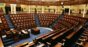 The Dáil terms draws to a close today. File photograph: The Irish Times