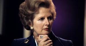 "British prime minister Margaret Thatcher claimed then chancellor Helmut Kohl wanted to ""bulldoze"" Germany into seeking more territory, expressing fear this might lead to conflict and war in Europe. Photograph: PA Wire"