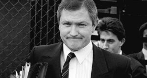 Pat Finucane: his murder caused a furore and a serious rift in Anglo-Irish relations. Photograph: Pacemaker Belfast