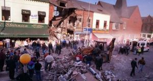 A bomb on the Shankill Road on October 23rd, 1993, killed 10 people.