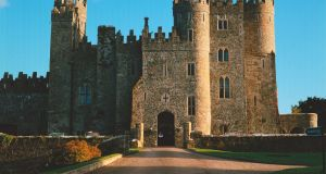 Kilkea Castle in Co Kildare was home to the Duke of Leinster.