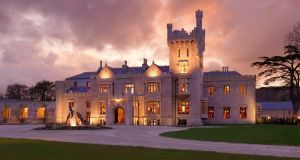 Lough Eske Castle in Co Donegal. Harcourt finance director Nick Doherty said higher room occupancy drove revenues