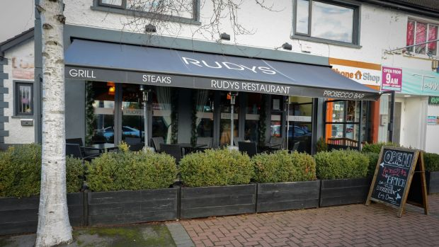 Rudy's restaurant on Blanchardstown's Main Street. Photograph: Crispin Rodwell/The Irish Times