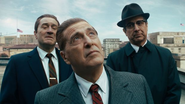 The Irishman: Robert De Niro, Al Pacino and Ray Romano