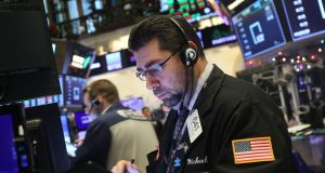 US stocks opened largely unchanged on Thursday as investors shrugged off a dip in jobless claims.