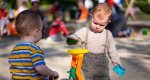 Minister for Children Katherine Zappone on Wednesday announced a one-off payment to registered childcare providers of €1,500 to deal with rising insurance costs. Photograph: iStock
