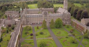 Fr Michael Mullaney,  president of St Patrick's College Maynooth (pictured), said a new language of racism  has emerged in Irish  public and political discourse. Photograph: Maynooth College.