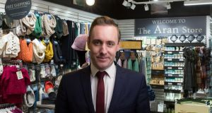 Peter Hyland, managing director at Carroll's Irish Gifts: I'm trying to change the perception of Carroll's
