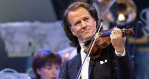 André Rieu is a box office sensation