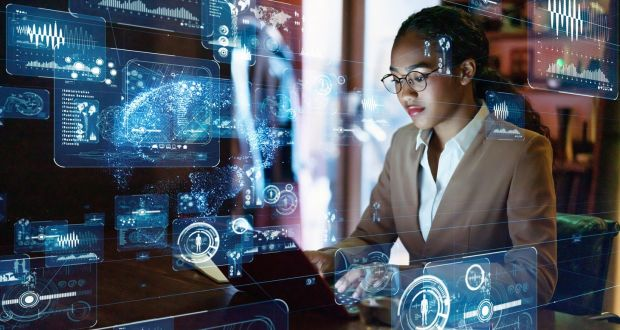 A recent study found 50% of jobs will be augmented to a greater or lesser extent by technological changes in the next five to 10 years. Photograph: iStock/Getty