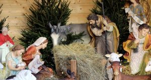 A Christmas crib at the Jasna Gora Monastery in  southern Poland. Filling the crib has long been controversial. Photograph: Waldemar Deska/EPA