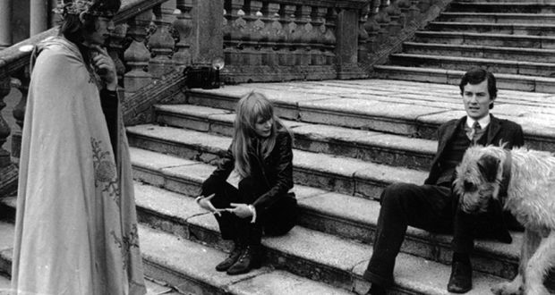Gillies Macbain, right, with Mick Jagger and Marianne Faithfull