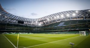 The Schoolboys Football Association of Ireland say the €50,000 they paid for a the use of a corporate box at the Aviva stadium was good value. Photograph: Oisín Keniry/Inpho