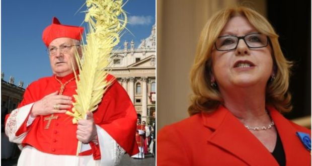 In 2018, former president Mary McAleese revealed that Cardinal Sodano tried to secure agreement that Ireland would not attempt to access church documents surrounding the handling of allegations of clerical sex abuse then underway. Photograph: Franco Origlia/Getty Images/Nick Bradshaw/The Irish Times
