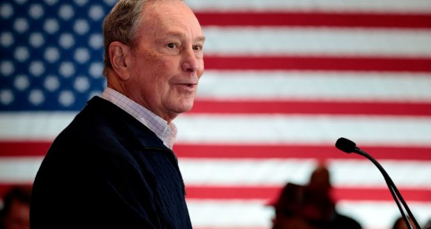 Democratic presidential hopeful and former New York mayor Michael Bloomberg: 'It takes a long time to do big things.' Photograph: Getty
