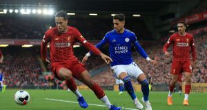 Liverpool travel to face Leicester on Stephen's Day in a top of the table clash. Photo: Simon Stacpoole/Offside/Offside via Getty Images