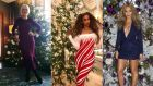 Helen Mirren, Tyra Banks and Beyoncé share their special takes on Christmas. Montage: helenmirren/tyrabanks/beyonce/Instagram