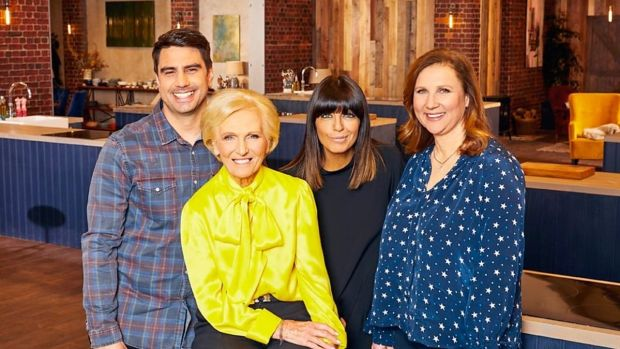 Chris Bavin, Mary Berry, Claudia Winkleman and Angela Hartnett in Best Home Cook