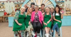 The stars of Derry Girls join the team for The Great Festive Bake Off, New Year's Day on Channel 4
