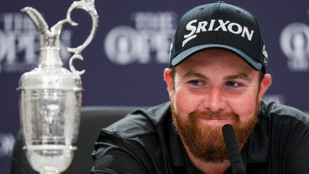 Shane Lowry this past July 21st, after winning The Open Championship on day 4 of the 148th Open Championship at Royal Portrush in Portrush, Co Antrim. Photograph: Ramsey Cardy/Sportsfile