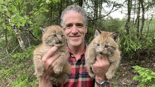Gordon Buchanan in Snow Cats and Me
