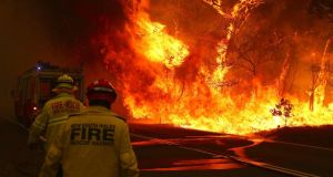 Australia's bush fires: the EU budget needs to change to support such pressing requirements as the global climate crisis. Photograph: David Gray/Getty