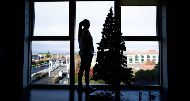 Colleen McDonagh at her apartment in Tallaght. Photograph: Tom Honan