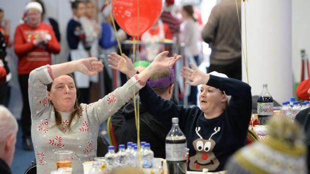 Hundreds Attend St Columbanus Annual Christmas Day Dinner