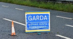 A 52-year-old woman is in a critical condition after she was hit by a car in Co Galway on Tuesday night. File photograph: Alan Betson/The Irish Times
