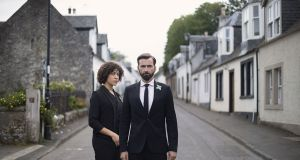 Cush Jumbo and David Tennant in Deadwater Fell, Friday on Channel 4