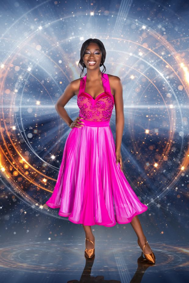 Yewande Biala on Dancing with the Stars