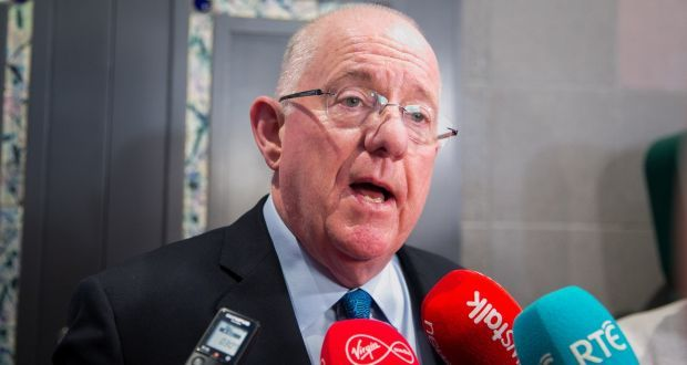 "Minister for Justice Charlie Flanagan said: ""I know that the people of Ireland will welcome them with open arms."" File photograph: Gareth Chaney/Collins"