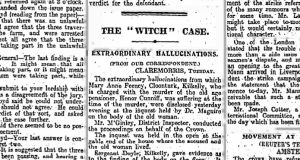 Newspapers called it 'The Witch Case', very nearly across the board.