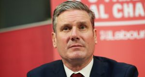 Keir Starmer: Yet to formally launch his campaign but is expected to do so in the next few weeks. Photograph:  Jonathan Brady/PA Wire