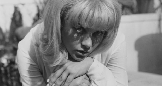 Sue Lyon in September 1962 in London, where she attended the UK premiere of Stanley Kubrick's film Lolita. Photograph:  Keystone/Hulton Archive/Getty Images