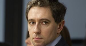 "Minister for Health Simon Harris:  ""How dare you turn up at the National Maternity Hospital and try to intimidate women."""