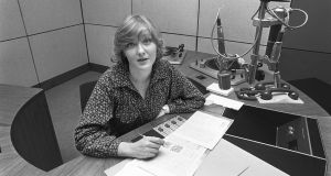 Marian Finucane in the RTÉ radio studios in January 1980. Photograph: Pat Langan/The Irish Times