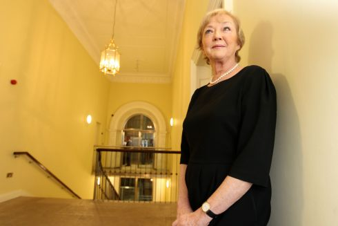 Marian Finucane photographed in 2011 at the launch of her book The Saturday Interviews 2005-2011. Photograph: Arthur Carron/Collins