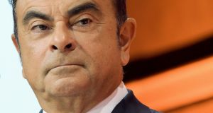 A file photograph of Carlos Ghosn. Photograph: Getty Images