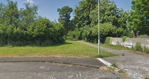 The teenager was stabbed in a laneway connecting Thorndale Estate and St David's Sports Grounds in Artane. Photograph: Google Maps