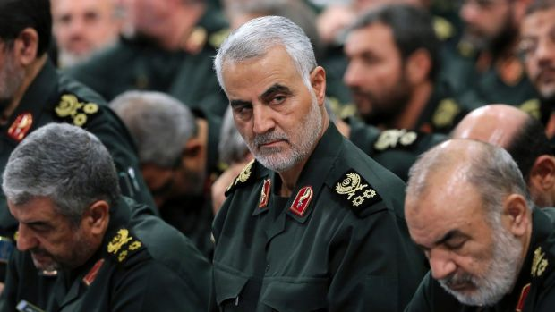 Maj Gen Qassem Suleimani: his killing has united pro- and anti-regime Iranians against the US. Photograph: Office of the Iranian Supreme Leader via New York Times